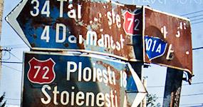 Indicatoare rutiere de orientare in Romania - Semne de circulatie Romania