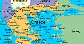 Vremea - Starea vremii in Grecia, temperatura curenta