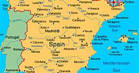 Vremea - Starea vremii in Spania, temperatura curenta