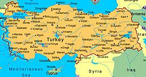 Vremea - Starea vremii in Turcia, temperatura curenta, harta Turcia